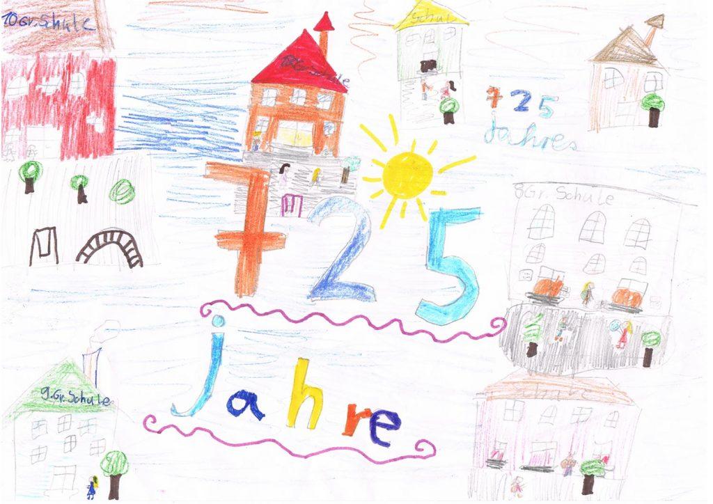 Malwettbewerb 6-10 Pieschner Schulen vereint