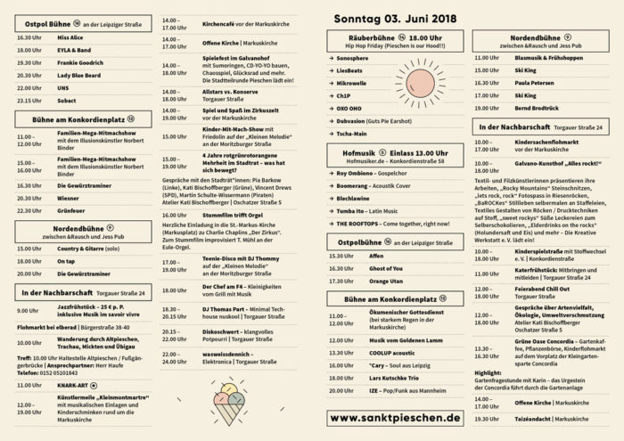 sankt pieschen Stadtteilfest 2018 Flyer 2