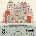 sankt pieschen Stadtteilfest 2018 Plakat